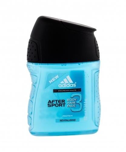 Adidas After Sport 3in1 żel pod prysznic 100 ml dla mężczyzn