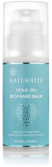 Naturativ Home Spa bogaty balsam do rąk 100ml