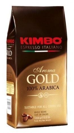 Kimbo Kawa ziarnista Aroma Gold 1kg 3843-uniw