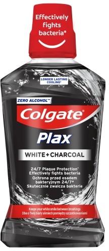 Colgate Palmolive PLAX CHARCOAL z aktywnym węglem płyn do płukania jamy ustnej 500 ml CP-COL-0055