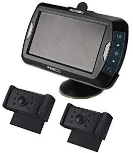 ProUser Pro-User 20125drc4320cyfrowy sygnał kamera cofania radiowy system bez zakłóceń o przekątnej 4.3cala monitora i 2widoczność w nocy przemysłowa 16251