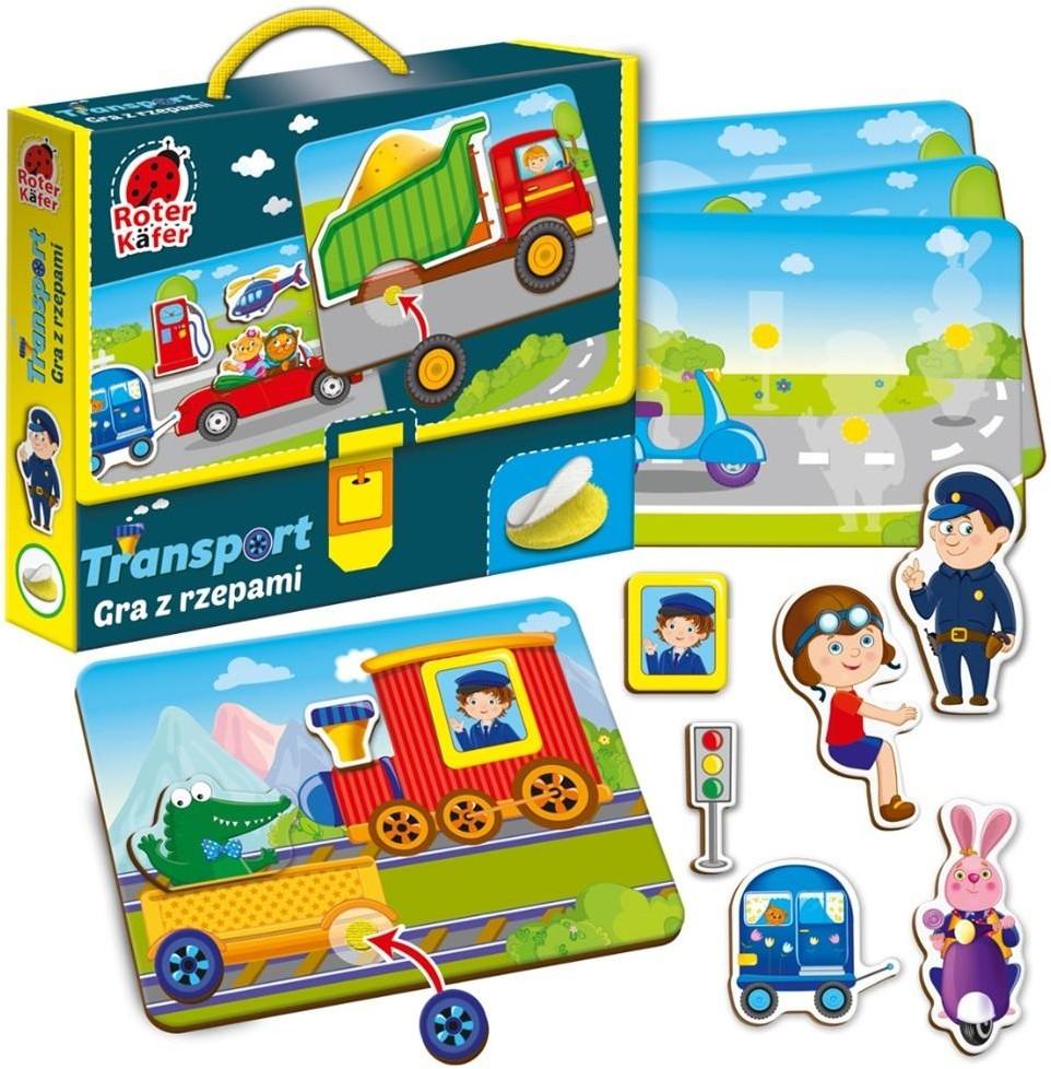 Roter Kafer Gra z rzepami Transport