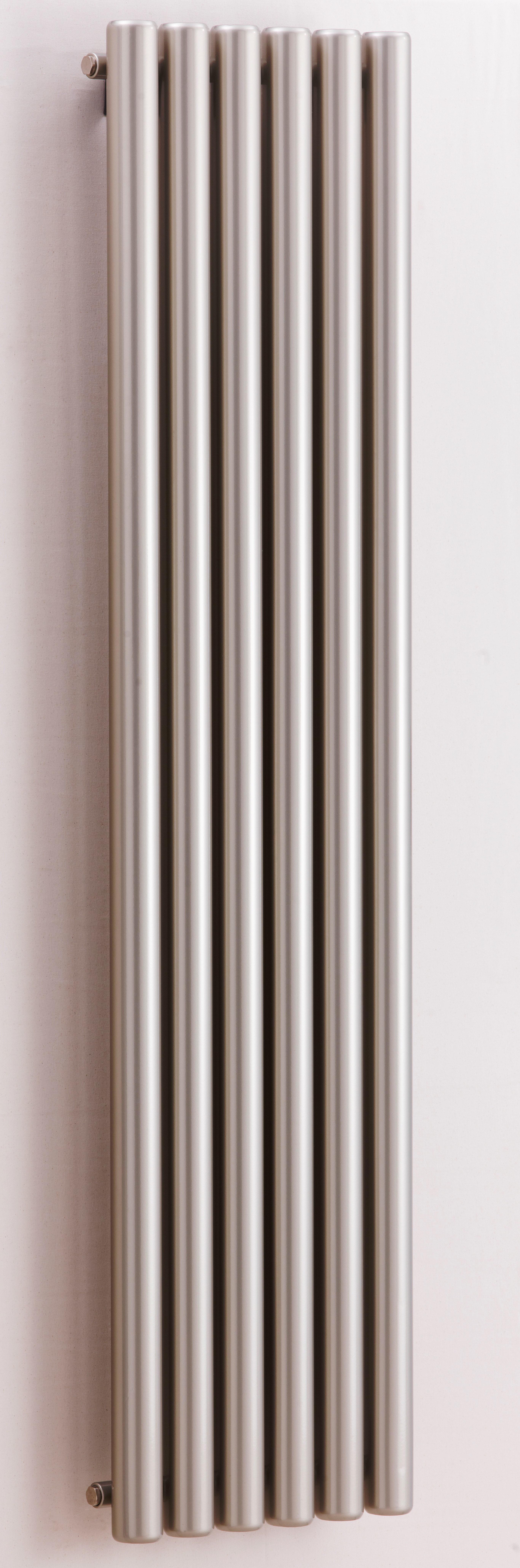 AG Grzejnik Elektryczny Ag Vulcanico Is Elektryczny Inox Szlifowany 600x360mm A.WU.IS.K.E.600.360.IS.d50l