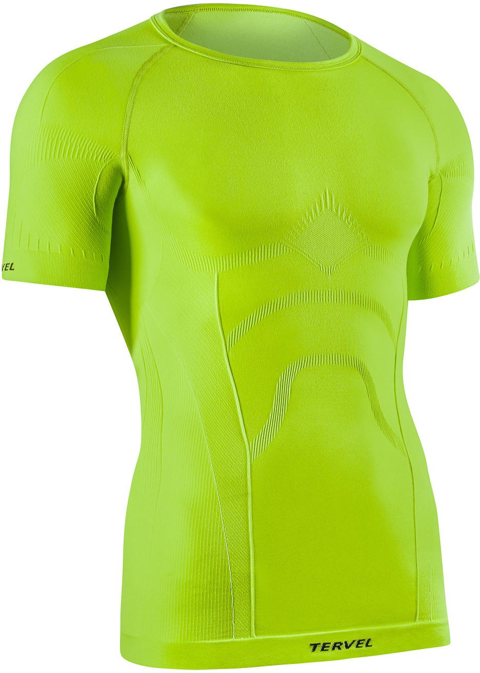 TERVEL COMFORTLINE 1102 męska koszulka termoaktywna krótki rękaw kolor Fluor