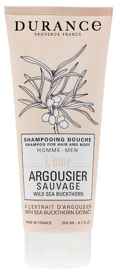 Durance Durance Pielęgnacja włosów Shampoo Hair/Body Wild Sea Buckthorn with Sea Buckthorn extract 200 ml