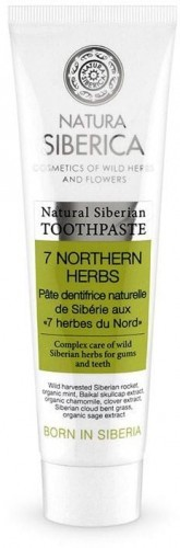 NATURA SIBERICA - (kosmetyki) Pasta do zębów siedem ziół EKO - Natura Siberica - 100g BP-4607174437531