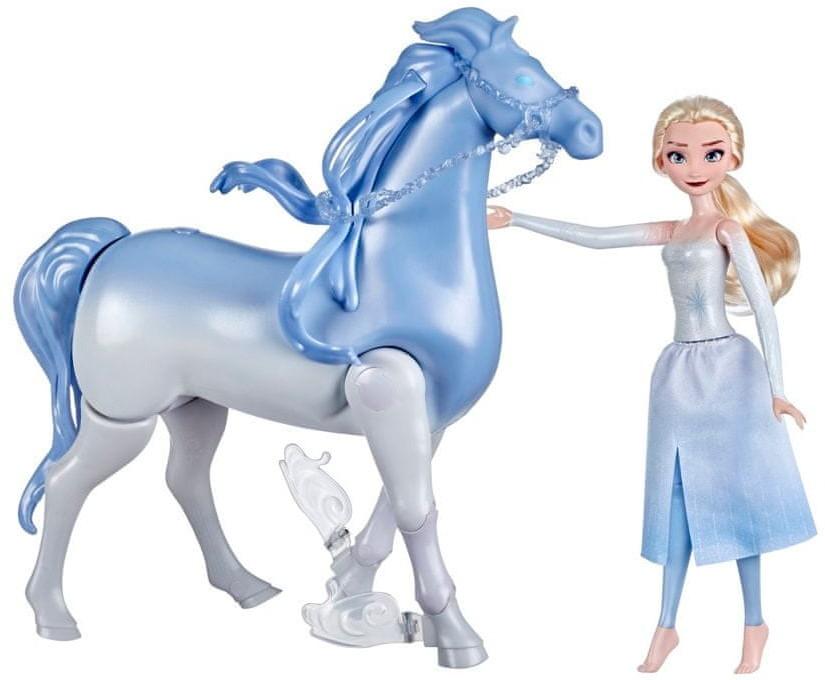 Hasbro Disney's Frozen 2 Elsa and Swim and Walk Nokk, Pionek