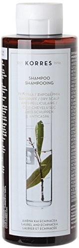 Korres Laurel i Echinacea Anti-szopa szampon dla skóry suchej skóry głowy, 250 ML KHC-SHA-U-0300047