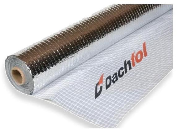SECCO Folia paroizolacyjna aluminiowa ALU DACHFOL 110g alu_110g