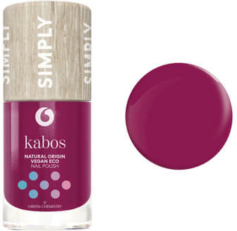 Kabos Cosmetics Lakier do paznokci Simply 17 Green Chemistry, 10 ml, 31AB-66358