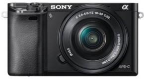 Sony A6000 + 16-50 kit czarny (ILCE6000LB.CEC)