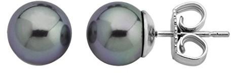 Majorica kolczyki damskie kolczyki ring, srebrny, perła, 00324.03.2.000.701.1 00324.03.2.000.701.1