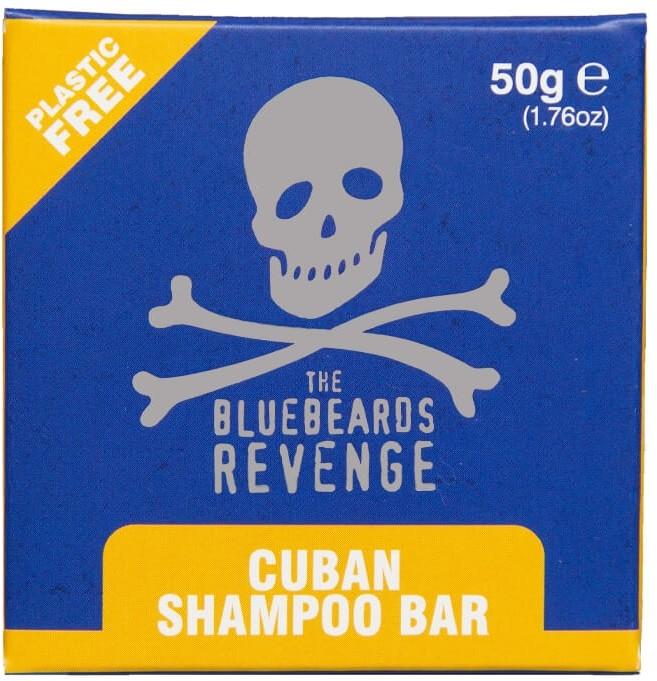 Bluebeards Revenge Shampoo Bar Cuban szampon w kostce 50 g BLUE SZAMP.BAR CUBAN 50