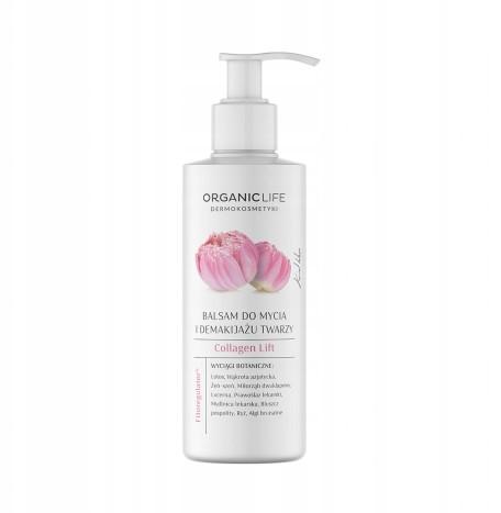 Organic Life Balsam do mycia i demakijażu twarzy
