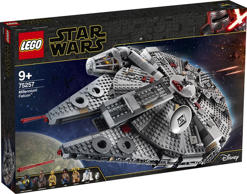 top LEGO Star Wars Sokół Millennium 75257