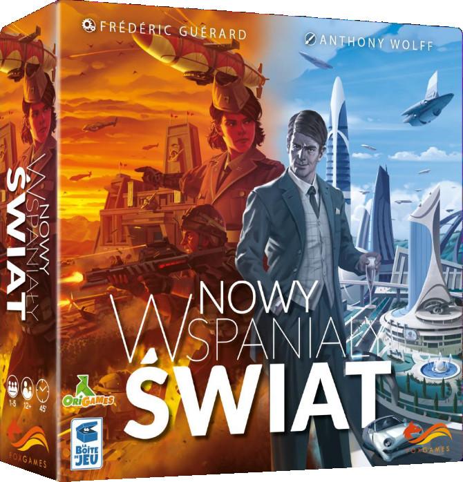 FoxGames Nowy wspaniały świat