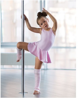 Pole dance dla dzieci  Bydgoszcz P0006089