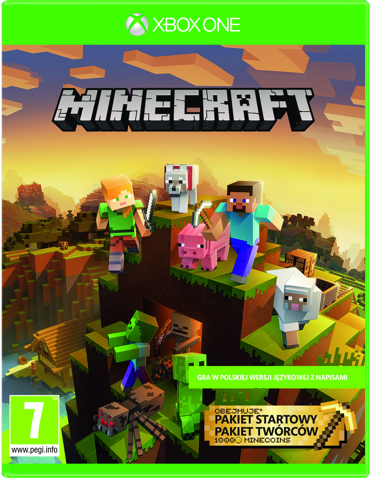 Minecraft Master Collection (GRA XBOX ONE)