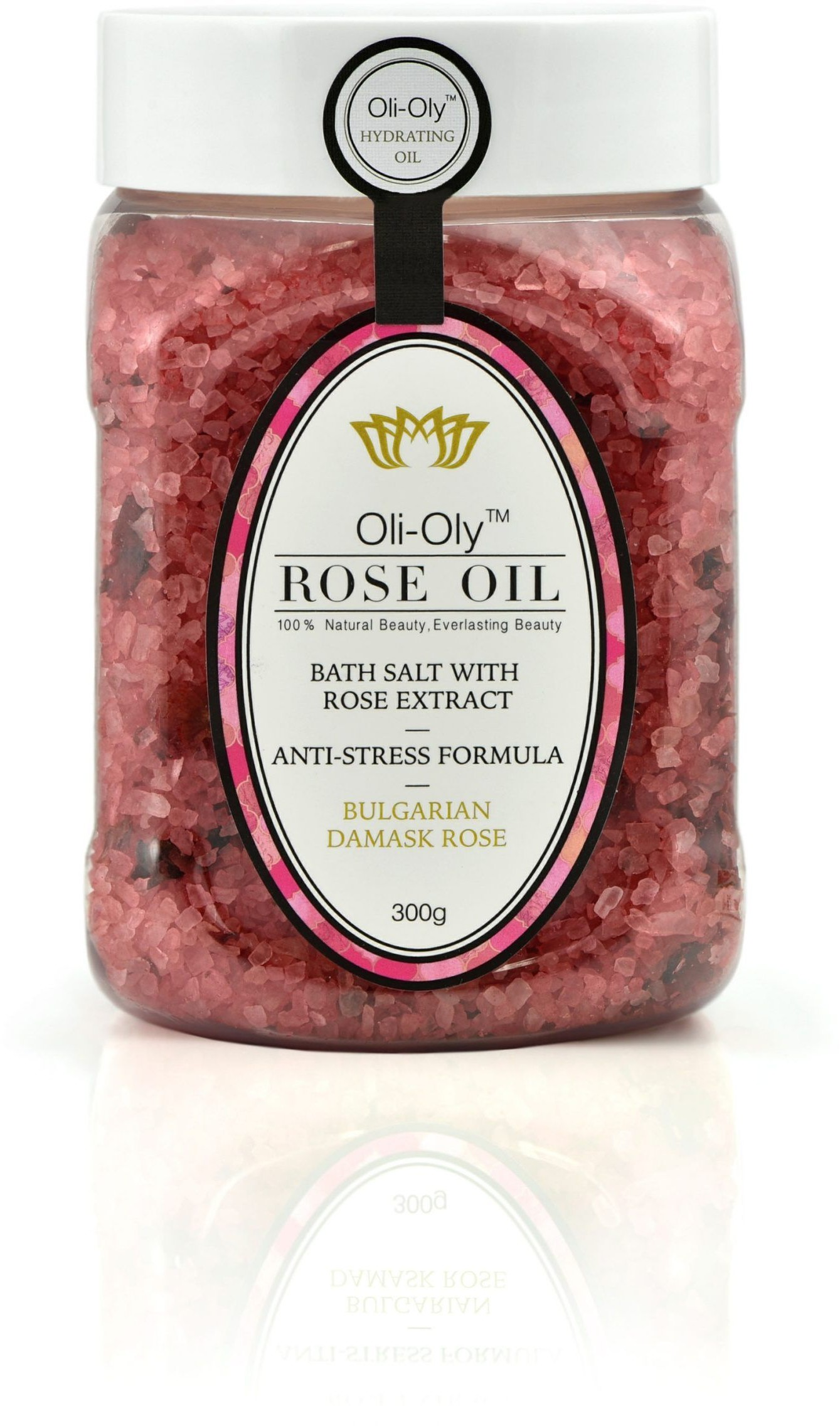 Sól do kąpieli Oli-Oly z olejkiem różanym, 300g