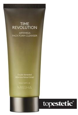 Missha Time Revolution Artemisia Pack Foam Cleanser Wzmacniająco-nawilżająca pianka na bazie ekstraktu z bylicy rocznej 150 ml