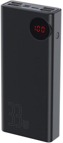 Baseus Mulight 30000mAh Czarny (PPMY-01)