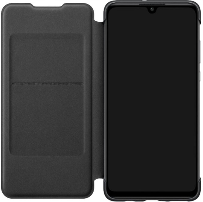 top Huawei Huawei P30 Lite Wallet Cover Black