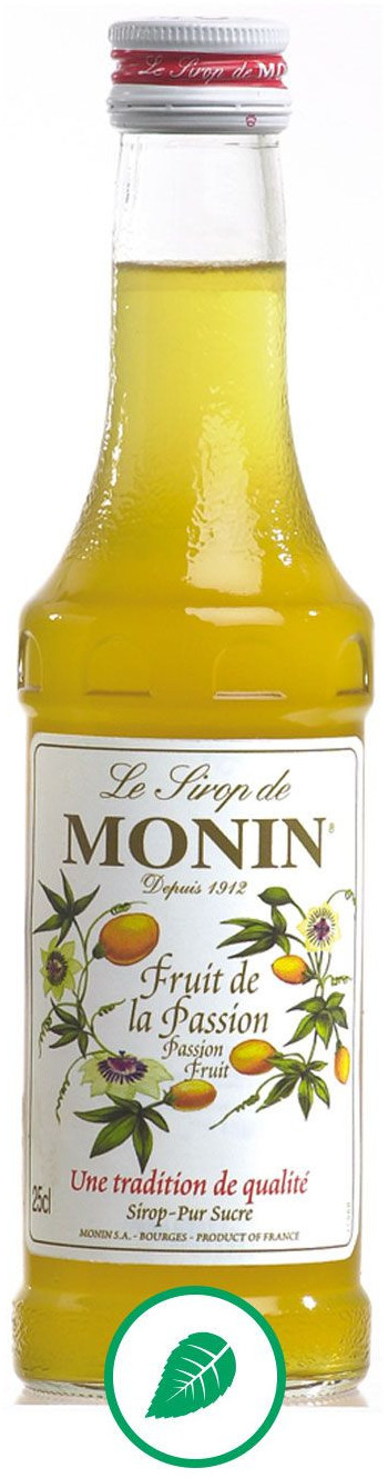 Monin Syrop Marakuja Passion Fruit 0,25l 907010 sc-907010 sc-907010