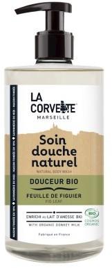 LA CORVETTE (mydła marsylskie) LA CORVETTE Żel pod prysznic nawilżający figowy listek eco 500ml