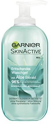 Garnier Ski nactive waschgel ekstrakt z aloe normalne i skóry mieszanej, 2er Pack (2X 200ML) C58116