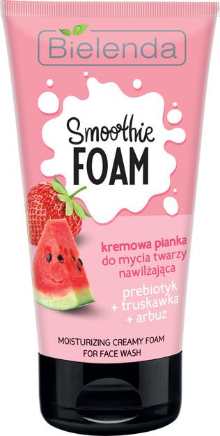 Bielenda Smoothie Care Pianka do mycia twarzy arbuz/truskawka 135ml