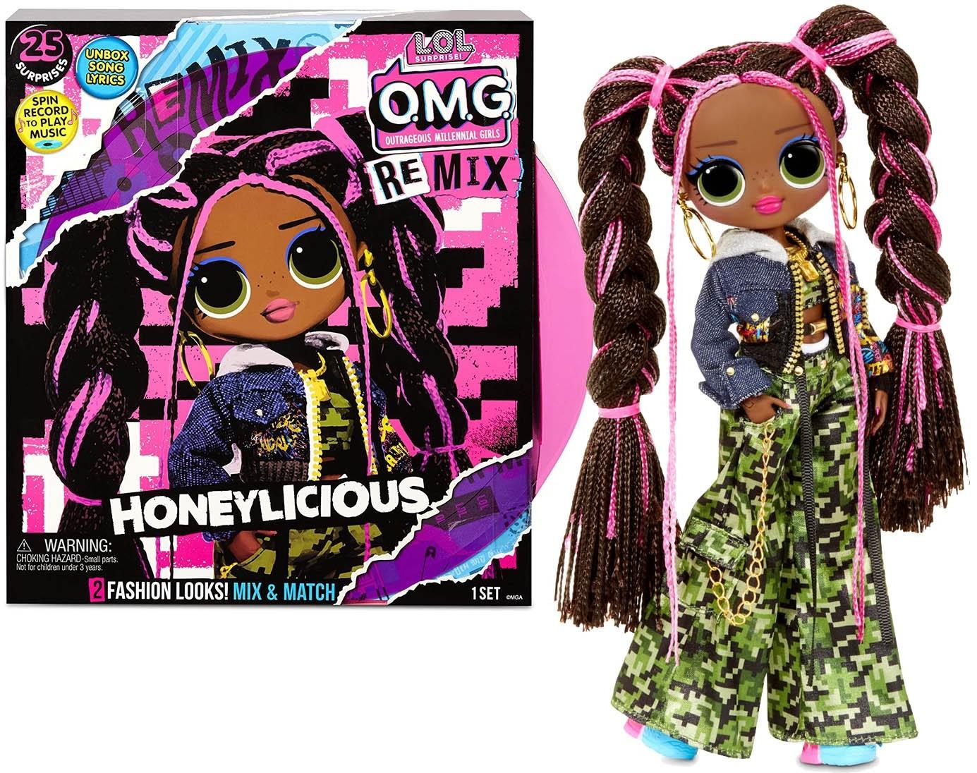 LOL Surprise LOL Surprise OMG Remix Honeylicious Hip Hop lalka modowa 567264 0000042883