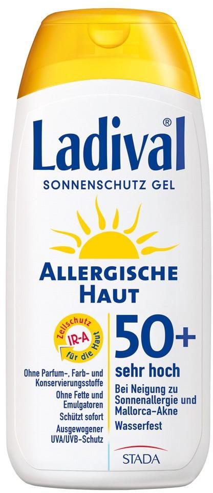 Ladival STADAvita GmbH Żel przeciwsłoneczny dla skóry alergicznej, Lsf50+ 200 ml