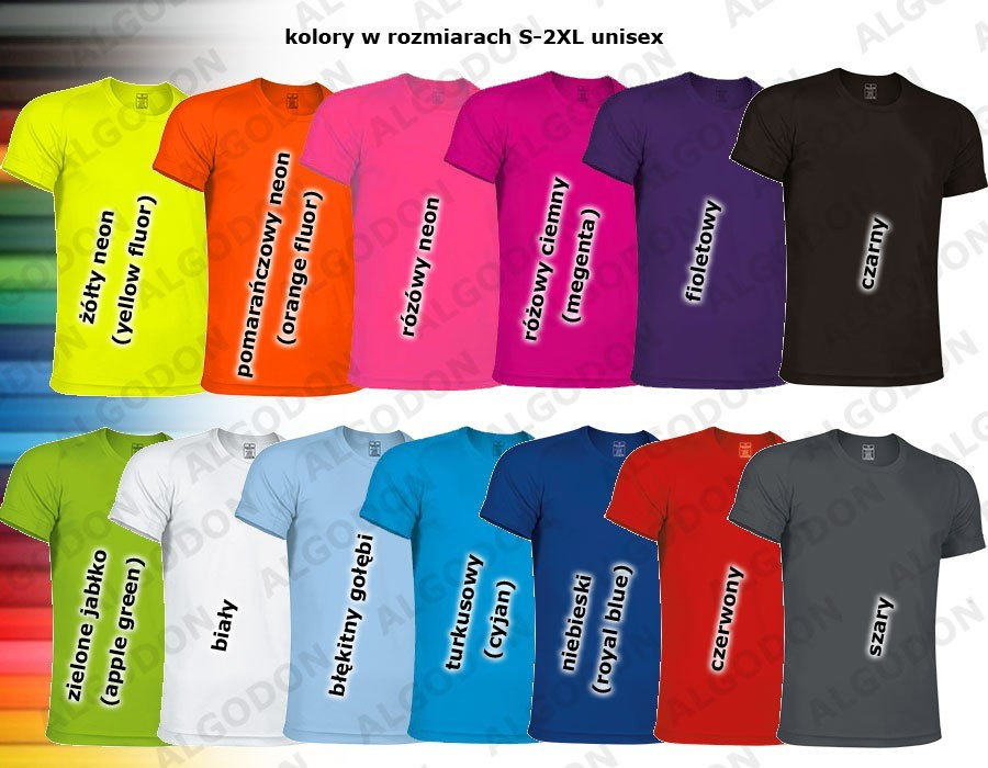 VALENTO T-shirt koszulka sportowa techniczna termoaktywna oddychająca szybkoschnąca poliestrowa bielizna termiczna CrossFIT xl niebieski-royal-blue