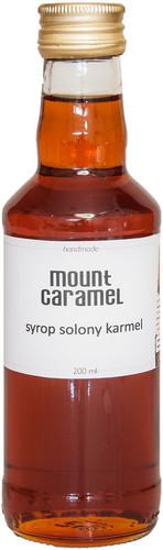 Mount Caramel Syrop 200 ml Solony Karmel