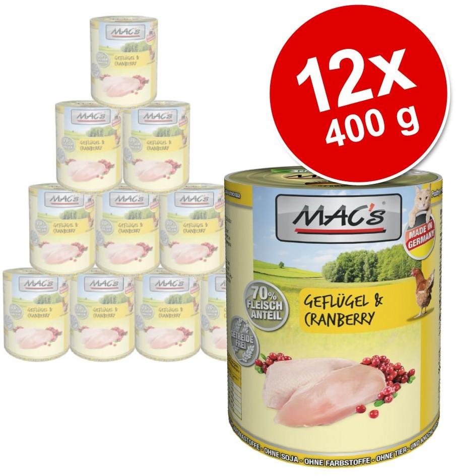 MACs Megapakiet MAC´s Cat karma dla kota 24 x 400 g Pakiet drobiowy