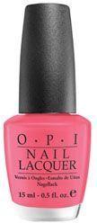 O.P.I Nail Lacquer lakier do paznokci Feelin' Hot-Hot-Hot!/Flamingowy Róż NLB77 15ml