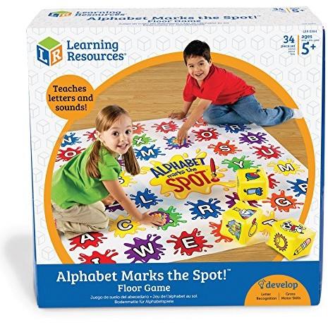 Unbekannt Znane Learning Resources Alphabet alfabet Marks the Spot  Activity Game LER0394
