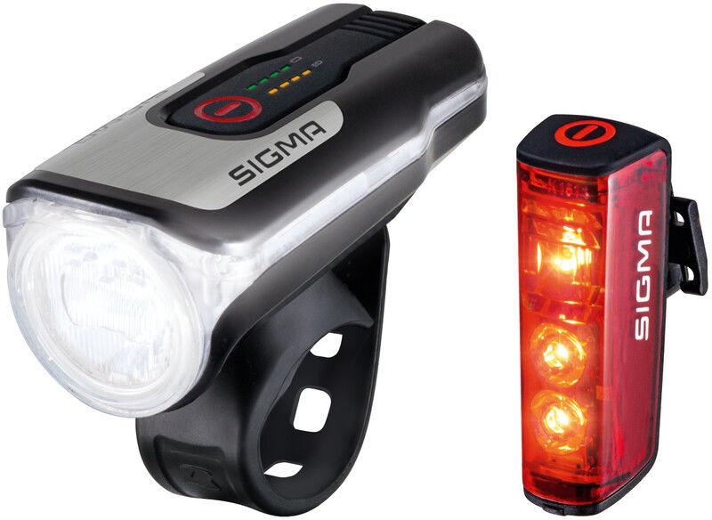 Sigma sport SPORT Aura 80/Blaze Zestaw oświetlenia na USB 2020 Oświetlenie rowerowe - zestawy 4016224178605