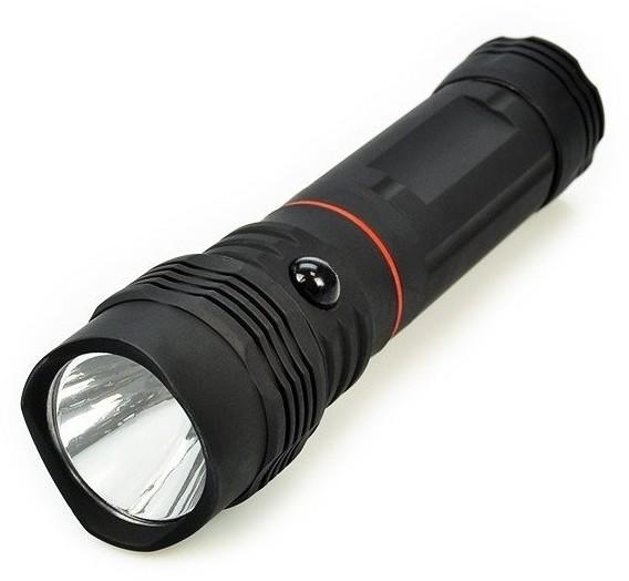 Solight LED Latarka wysuwana LED/3W + LED/1W/4xAAA IP44