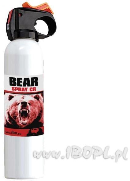 IBO Sprej obronny - kaser Bear spray CR 300ml AL04