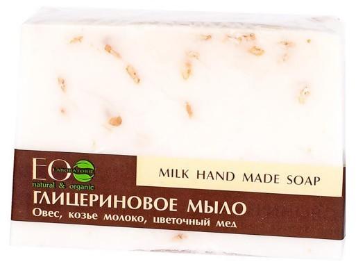 Eco LABORATORIE Laboratorie Mydło w kostce glicerynowe mleczne 130 g () 127838
