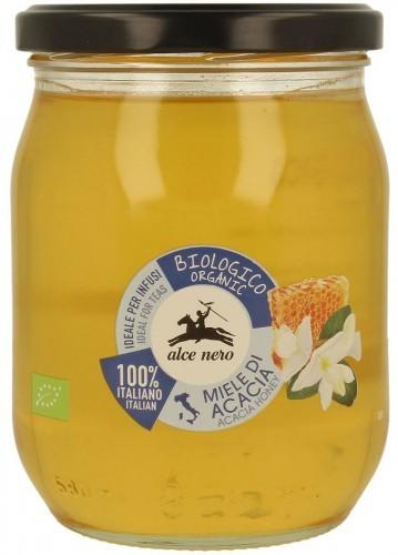Alce Nero (włoskie produkty) Miód Nektarowy Akacjowy Bio 700 g -