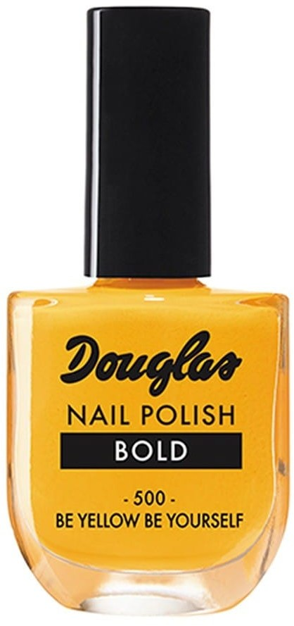 Douglas Collection Collection BE YELLOW BE YOURSELF Texture Lakier do paznokci 10ml