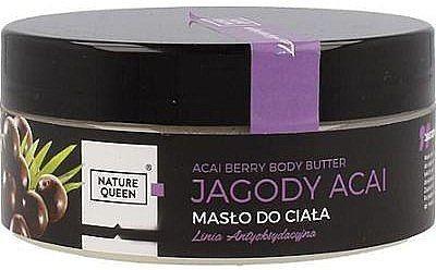Nature queen Nature Queen Masło do Ciała Jagody Acai NATQ-0757