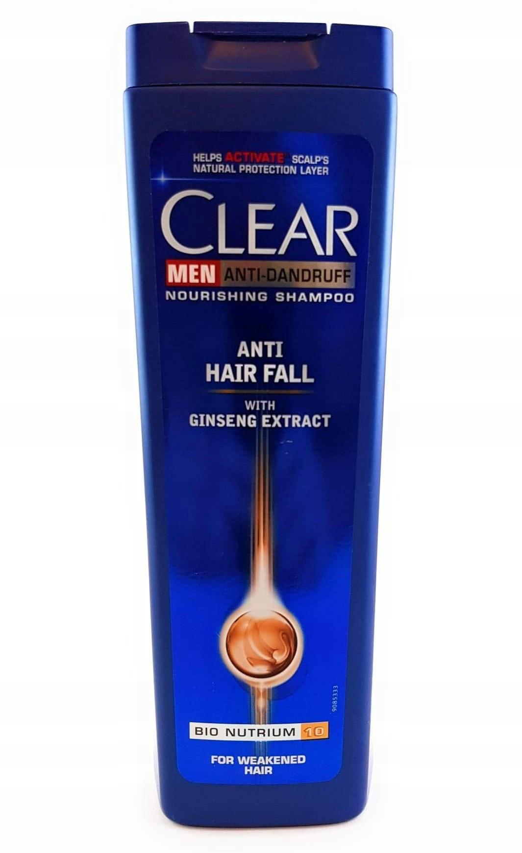 Clear Men Anti Hair Fall 400ml P/wypadaniu Szampon