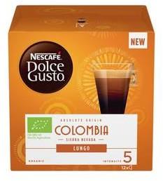 Must Kapsułki do espresso Nescafe Dolce Gusto Columbia