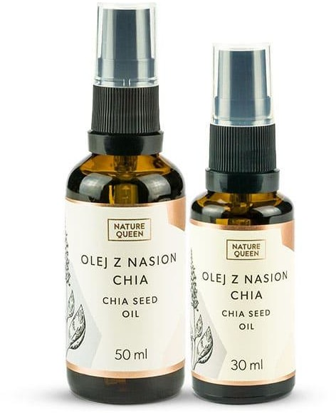 NATURE QUEEN NATURE QUEEN olejek z  nasion CHIA 50 ML 20982