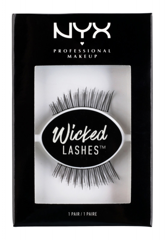 NYX Professional Makeup Professional Makeup - WICKED LASHES - Sztuczne rzęsy - 21 ON THE FRINGE NYXPLOFR