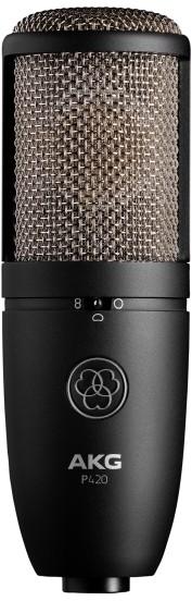 AKG P-420 - wielkomembranowy, prawdziwy mikrofon pojemnościowy