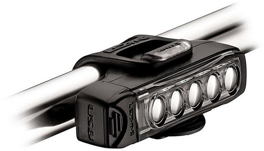 LEZYNE Lampka przednia Strip Drive 400 lumenów, usb czarna 4712806002053